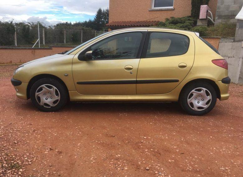 Peugeot 206,1.4 l, 2004, Rudas